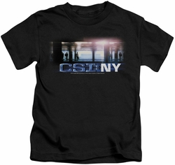 CSI kids t-shirt New York Subway black