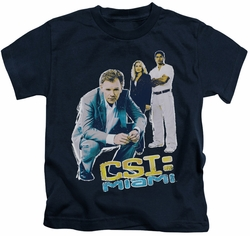 CSI Miami kids t-shirt In Perspective navy