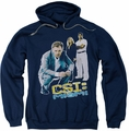 CSI Miami pull-over hoodie In Perspective adult navy