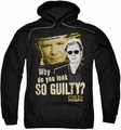 CSI Miami pull-over hoodie So Guilty adult black