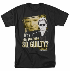CSI Miami t-shirt So Guilty mens black