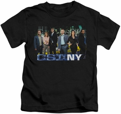 CSI New York kids t-shirt Cast black