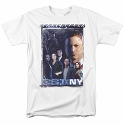 CSI New York t-shirt Watchful Eye mens white
