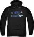 CSI NY pull-over hoodie Never Rests adult black
