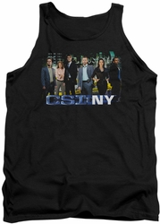 Csi Ny tank top Cast mens black