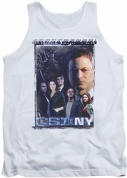 Csi Ny tank top Watchful Eye mens white