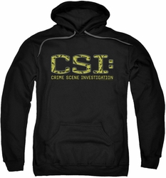 CSI pull-over hoodie Collage Logo adult black