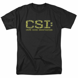 CSI t-shirt Collage Logo mens black