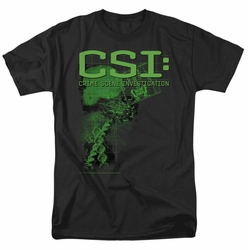CSI t-shirt Evidence mens black