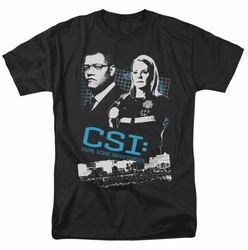 CSI t-shirt Investigate This mens black