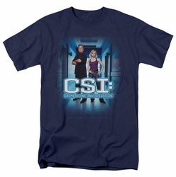 CSI t-shirt Serious Business mens navy