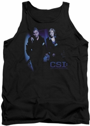 CSI tank top At The Scene mens black