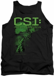CSI tank top Evidence mens black
