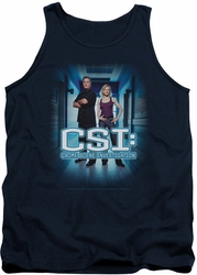 CSI tank top Serious Business mens navy