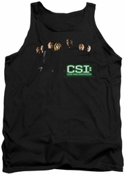 CSI tank top Shadow Cast mens black