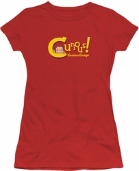 Curious George juniors t-shirt Curious Red
