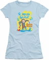 Curious George juniors t-shirt Messy George Light Blue