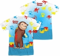 Curious George mens full sublimation t-shirt Paint All Over