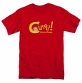 Curious George t-shirt Curious mens Red