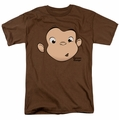 Curious George t-shirt George Face mens coffee