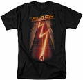 CW's The Flash t-shirt Flash Ave mens black