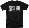 CW's The Flash t-shirt S.T.A.R. mens black