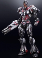 Cyborg Play Arts Kai variant action figure