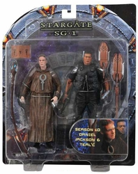 Daniel Jackson & Teal'c SG1 Season 10 action figure 2-pack