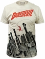 Daredevil gun city big print subway tee vintage white t-shirt pre-order