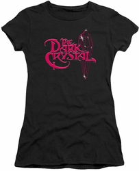 Dark Crystal juniors t-shirt Bright Logo black