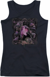 Dark Crystal juniors tank top Lust For Power black
