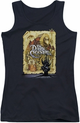 Dark Crystal juniors tank top Poster black