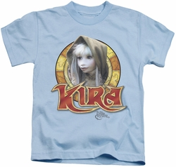 Dark Crystal kids t-shirt Kira Circle light blue
