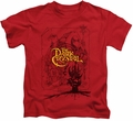 Dark Crystal kids t-shirt Poster Lines red
