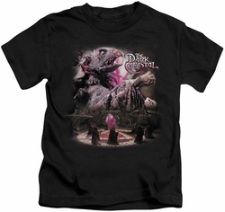 Dark Crystal kids t-shirt Power Mad black