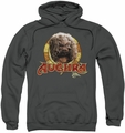 Dark Crystal pull-over hoodie Aughra Circle adult charcoal