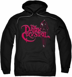 Dark Crystal pull-over hoodie Bright Logo adult black