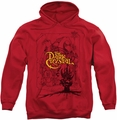 Dark Crystal pull-over hoodie Poster Lines adult red