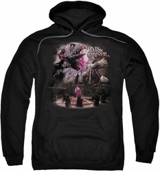 Dark Crystal pull-over hoodie Power Mad adult black