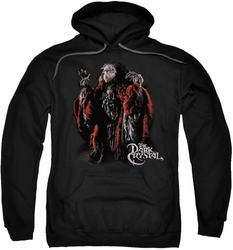 Dark Crystal pull-over hoodie Skeksis adult black