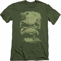 Dark Crystal slim-fit t-shirt Aughra mens military green