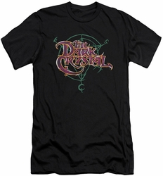 Dark Crystal slim-fit t-shirt Symbol Logo mens black