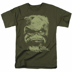Dark Crystal t-shirt Aughra mens military green