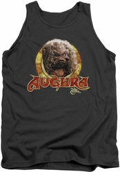 Dark Crystal tank top Aughra Circle mens charcoal
