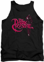 Dark Crystal tank top Bright Logo mens black