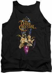 Dark Crystal tank top Crystal Quest mens black