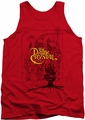 Dark Crystal tank top Poster Lines mens red