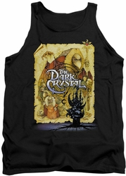 Dark Crystal tank top Poster mens black