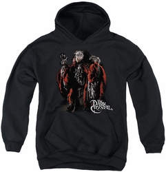 Dark Crystal youth teen hoodie Skeksis black