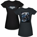 Dark Knight Rises juniors t-shirt